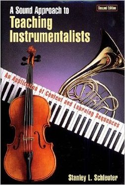 a sound approach to teaching instrumentalists cover